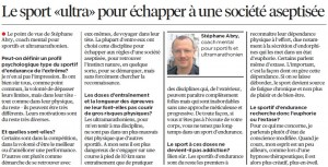 24 heures article endurance Stephane Abry
