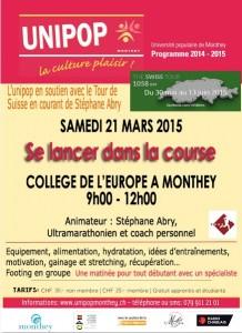Unipop Monthey course affiche2