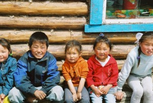 Enfants Mongols
