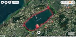 Lac de Morat parcours