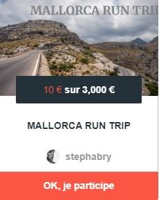 Cagnotte Mallorca Run Trip